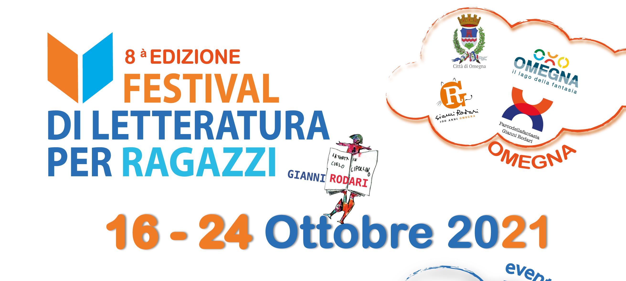 """Al via l'8^ edizione del Festival della Letteratura per Ragazzi """"Gianni Rodari"""""""
